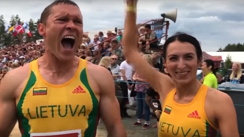 World Wife-Carrying Championship Title 2018 Grabbed by Lithuanian Couple in Finland; Watch Race Video