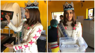Manushi Chhillar's Noble Cause for Menstrual Hygiene in South Africa Will Make you Feel Proud of Her