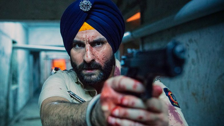 Sacred Games 2 Goes on Floors, Saif Ali Khan's Photo Gets Leaked From Sets at St Xavier's College (View Pic)
