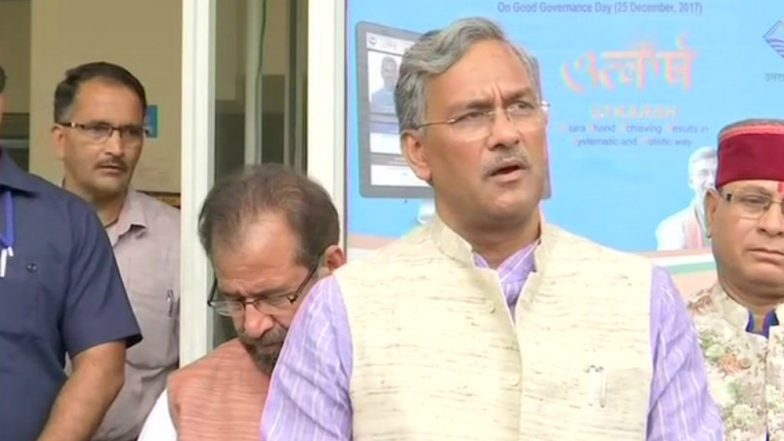 Uttarakhand Weather Update: CM Trivendra Singh Rawat Cancels Holidays of Officers Citing Heavy Rains & Flood Alert