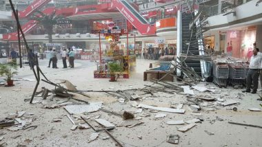 Vashi: Part of Raghuleela Mall Ceiling Collapses, Watch Pictures & Video