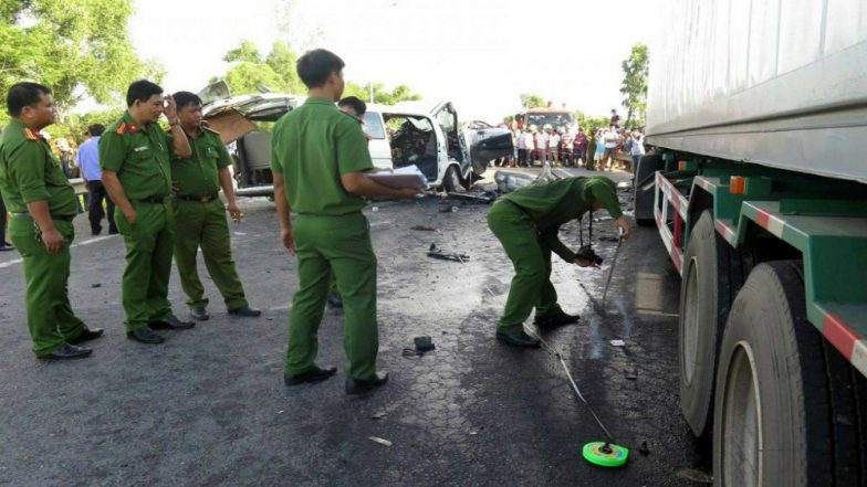 Fourteen Members of  Same Family Killed in Vietnam Wedding Party Car Crash