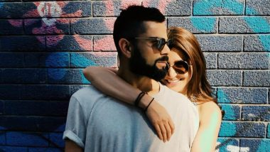 Anushka Sharma Is All Smiles Hugging Hubby Virat Kohli, Who Appears Grumpy for Some Reason (See Pic)