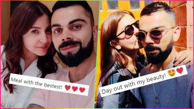 Anushka Sharma's Cute Nicknames by Virat Kohli in His Instagram Photos So Far: 'Love' to 'My Beauty' to 'The Bestest', Which One's Your Fav Affectionate Name?