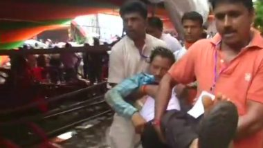 Narendra Modi In West Bengal: Portion Of Tent At PM's Rally In Midnapore Collapses, Several Injured