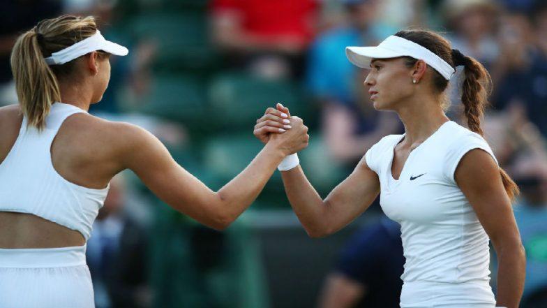World No.132 Vitalia Diatchenko Stuns Maria Sharapova in 2018 Wimbledon 1st Round