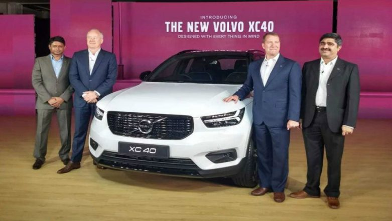 Volvo Cars Launches XC40 in India at Rs 39.9 Lakh