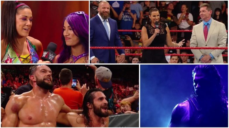Monday Night RAW Match Results and Highlights: Stephanie McMahon Announce All-Women PPV 'Evolution'; Roman Reigns Beats Bobby Lashley