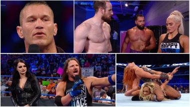 WWE SmackDown LIVE Match Results and Video Highlights: Becky Lynch Defeats Carmella; AJ Styles vs Samoa Joe Announced for SummerSlam