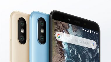 Xiaomi Mi A2 Smartphone Launching Today in India; Watch the Live Streaming & Online Telecast Here