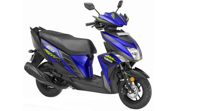 Yamaha RayZR Street Rally Edition Scooter Launched in India, Priced at Rs. 57,898