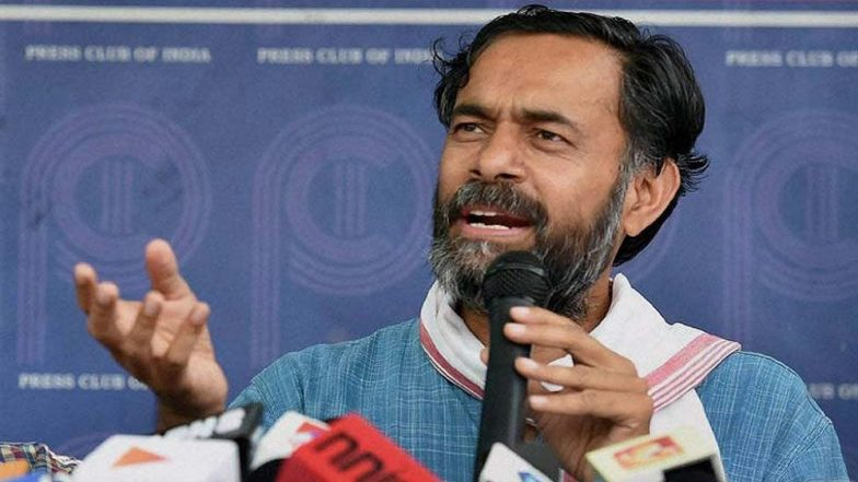 Yogendra Yadav Detained, 'Manhandled' in Tiruvannamalai by Tamil Nadu Police