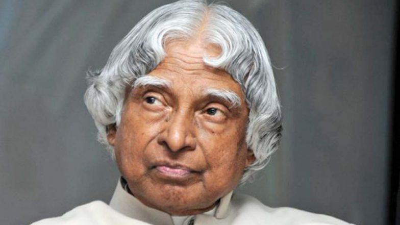 Dr A.P.J. Abdul Kalam's Third Death Anniversary: 10 Inspiring Quotes by the Missile Man & Former President of India
