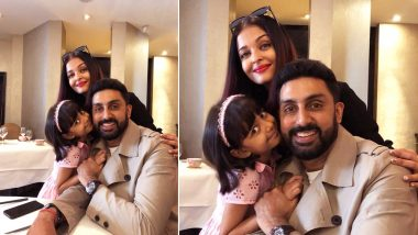 Abhishek Bachchan Surprises Aishwarya Rai and Aaradhya in Paris - See Pic