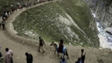 Amarnath Yatra Suspended from Baltal Route Due to Overnight Rainfall