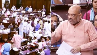 NRC Assam Row Rocks Rajya Sabha; Opposition Attacks BJP For 'Politicising' Issue, Amit Shah Says 'Only We Had The Guts to Implement it'