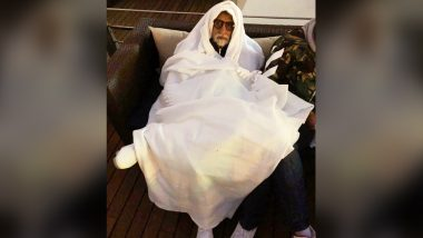 Amitabh Bachchan's Trip to 'Cold' Russia for 2018 FIFA World Cup Turns Him Into ET, Fans Call Him 'Cute Ghost'