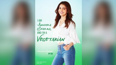 Anushka Sharma Turns Vegetarian: Other Bollywood Celebrities Who Opted for The Vegetarian Way of Life