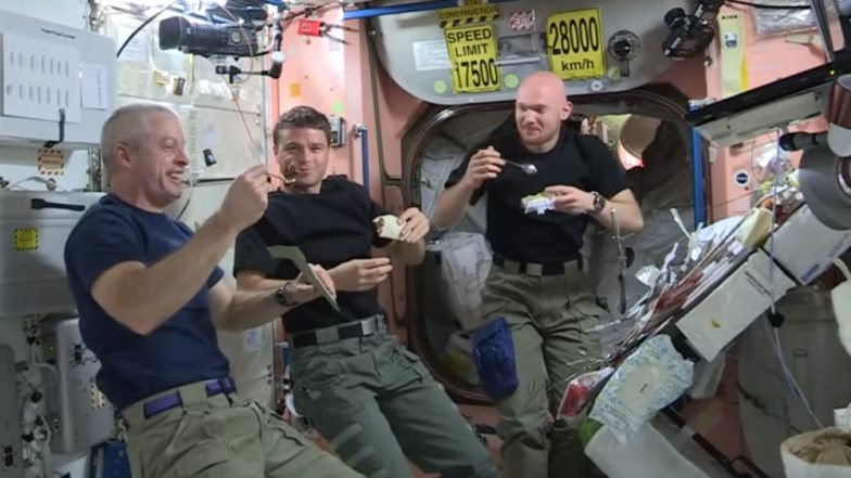 what do astronauts eating space - photo #19