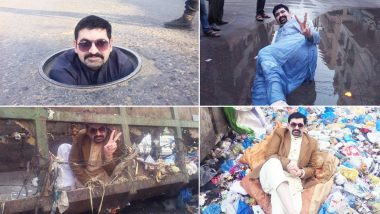 Viral Photos & Videos: Pakistan Politician Ayaz Memon