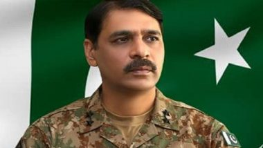 Pakistan Army Spokesperson Major General Asif Ghafoor Replaced, Baber Iftikhar to Take Charge As DG ISPR: Report