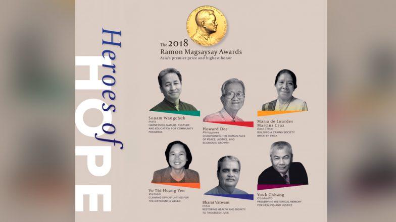 Sonam Wangchuk, India's Real Life 'Phunsuk Wangdu', And Mumbai Psychiatrist Bharat Vatwani Win Magsaysay Award
