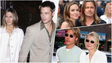 Brad Pitt Copies All His Girlfriends! Twitter User's Accurate Observation Has Left The Internet Shook