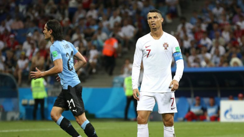 Uruguay vs Portugal Match Result and Video Highlights: Edinson Cavani Fires Uruguay Into Last Eight as Cristiano Ronaldo's Dream Ends