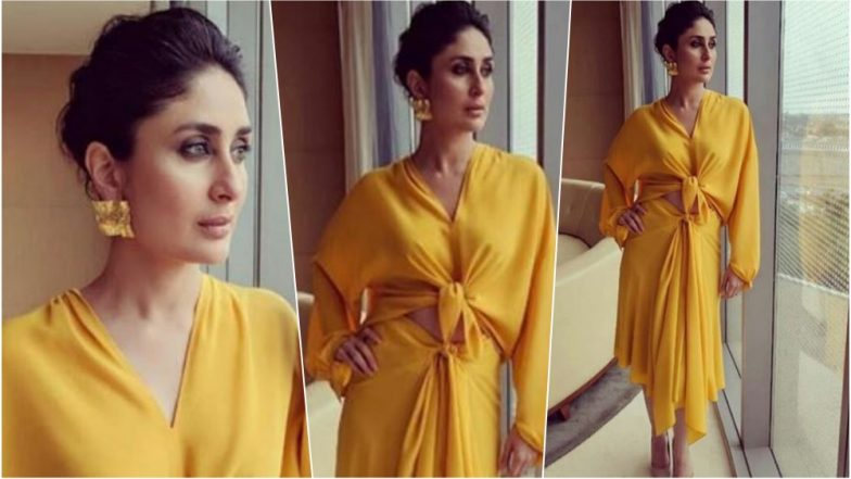 Kareena Kapoor Khan Shines in Lemon Yellow Outfit for An Event (See Pics)