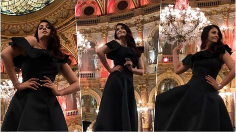 Aishwarya Rai Bachchan Looks a Sight to Behold in this Black Ballroom Gown (See Pics)