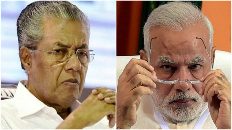 Image result for Pinarayi with Modi