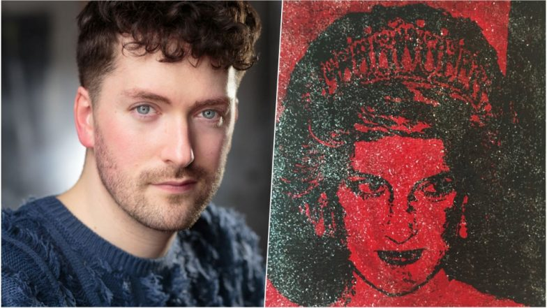 Portrait of Princess Diana Created by HIV Positive Blood! Artist Shares a Powerful Message Behind the Painting