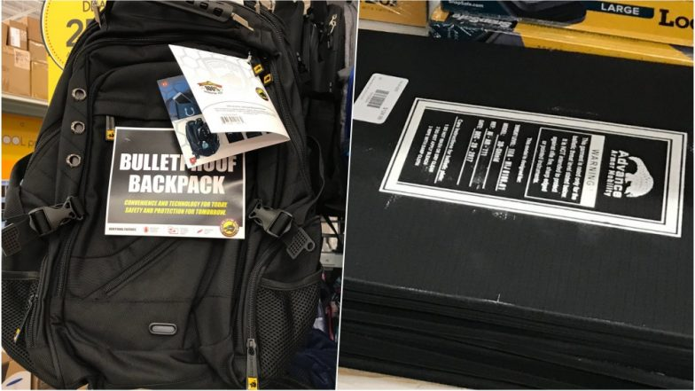 Scared of Shootings, Florida Parents Buy Bulletproof Bags & Inserts as Schools are Reopening