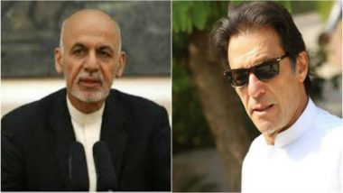 Afghan President Ashraf Ghani Invites Imran Khan to Visit Kabul
