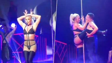 Britney Spears Has a Wardrobe Malfunction at Maryland Concert but Handles It Quite Well – Watch Video