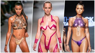 Stick-on Swimwear! New Trend Sees Bikini Made of Duct Tapes, See Pics!