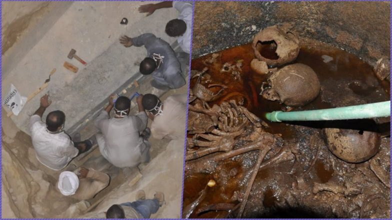Egypt's Mysterious 2000-Year-Old Sarcophagus Opened by Archaeologists! View Pics of Three Decomposed Mummies