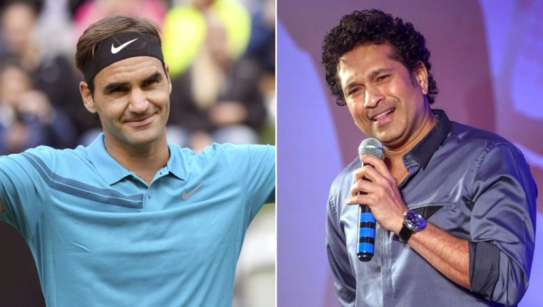 After ICC, Sachin Tendulkar Praises Roger Federer for His Cricketing Skills at Wimbledon 2018