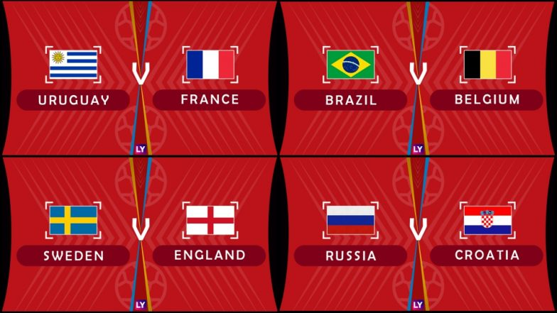 Image result for world cup quarter finals 2018