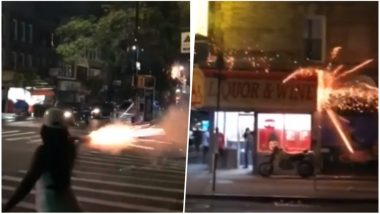 Woman Caught Shooting July 4th Fireworks at Crowd in Brooklyn; Watch the Viral Video