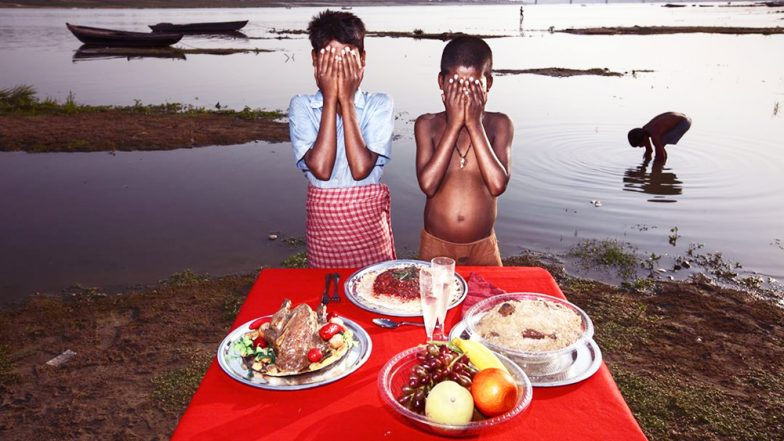 Italian Photographer Alessio Mamo Tries to Showcase India's Poverty With Fake Food in Front of Real People, Gets Slammed