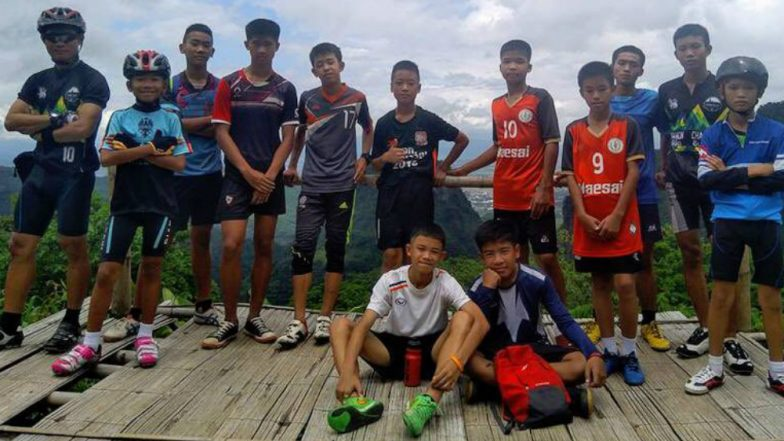 Missing Thailand Football Team of 12 Boys & Their Coach Found Alive After 9 Days in a Cave