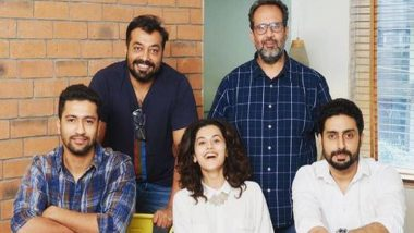 Manmarziyaan: Abhishek Bachchan, Taapsee Pannu and Vicky Kaushal's Film to Premiere at This Prestigious International Film Festival Before Releasing in India