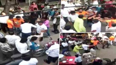 Muslim Man Beaten Up Outside Ghaziabad Court For Trying To Marry Hindu Girl; Video Goes Viral