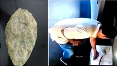 1.6 Million Years Old 'Olduvai Handaxe' Stolen Replica Recovered, Thanks to CCTV Footage From Delhi's National Museum