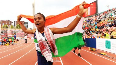 Wishes Pour in for Hima Das for Winning Fourth Gold Within 15 Days
