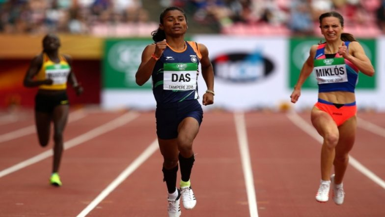 Hima Das Wins India's First Gold in the World Under-20 Championship! 400m Race Winner Says 'Thank You for the Support India'