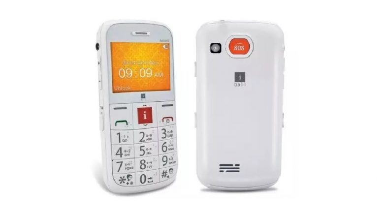 iBall Aasaan 4 Feature Phone for Senior Citizens, Launched in India at Rs 3,499