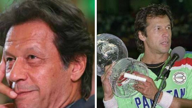 Imran Khan Leading in Latest Election Trends! Watch Video of Pakistan PM Candidate's Winning Moment from 1992 World Cup and His Speech as Captain