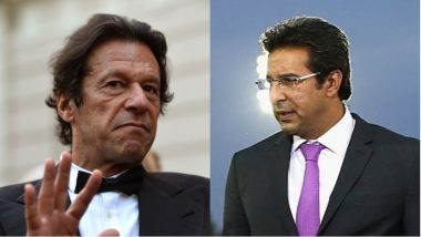 As Imran Khan Is All Set to Become Pakistan's Prime Minister, Wasim Akram Could Be Appointed New PCB Chairman
